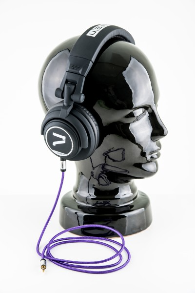 7even Kopfhörer schwarz-lila/ The Headphone black/ purple