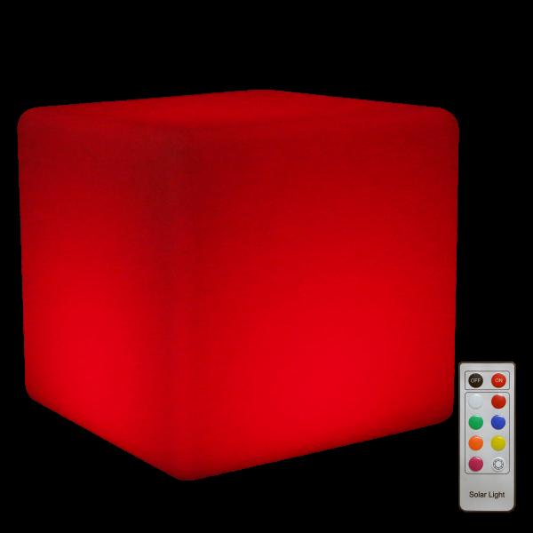 LED Cube Solar 40cm