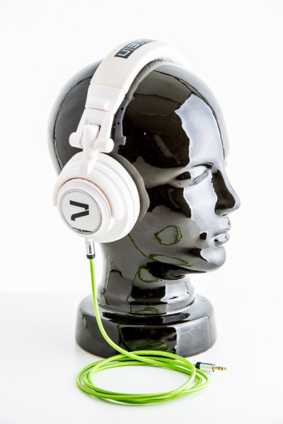 7even Headphone white / green