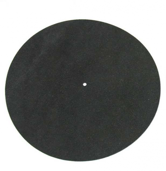 High End Plattentellerauflage Leder / Slipmat Leather