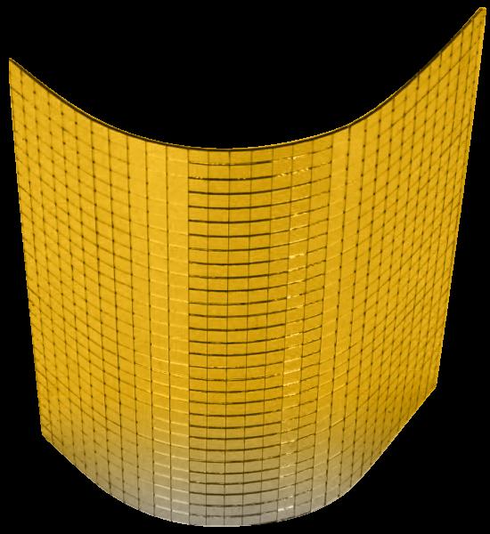 Goldene Spiegelmatten
