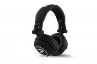 7even Headphone black / Dj, Hifi, Sport Kopfhörer, dreh-klappbar,tauschbares Kabel,Rubber-Finish