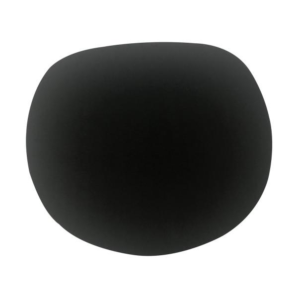 Filz Auflage 35,5 x 39cm schwarz