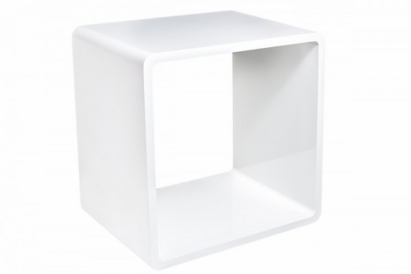 Lounge-Cube in weiß