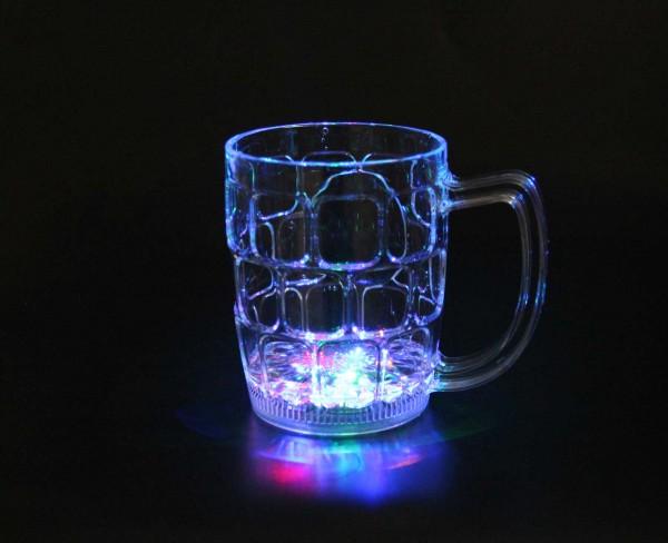 LED-Bierkrug groß 550ml (1 Stück)