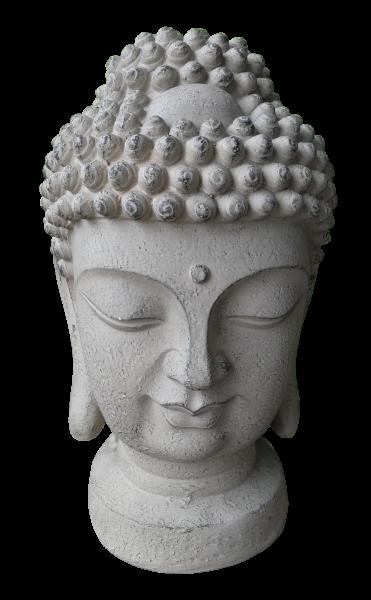 Buddha Kopf für Garten und Wohnung 48cm hoch!