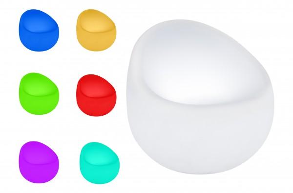 7even LED In & Outdoor Designsessel / LED-Sessel, Farbwechsel und Fernbedienbar! Infrarot (B-Ware)