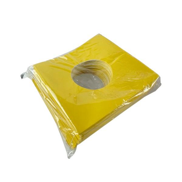 """7"""" innenschutzhülle gelb (100 Stück)"""