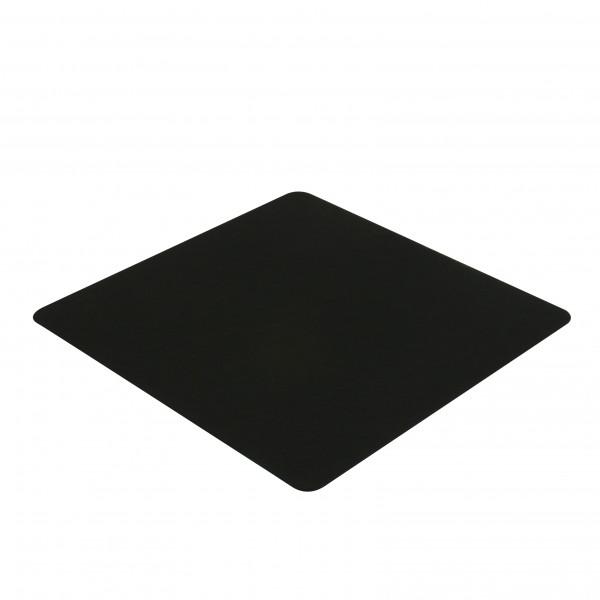 Filz Bank Stuhl Sessel Auflage / Kissen 40cm in schwarz