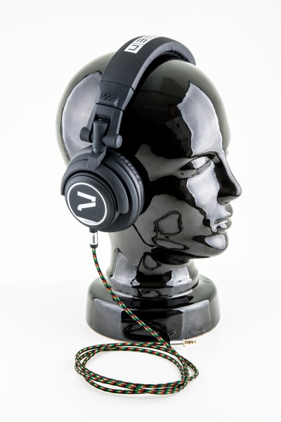 7even Headphone black / rasta