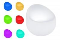 7even LED In & Outdoor Designsessel / LED-Sessel, Farbwechsel und Fernbedienbar! Infrarot