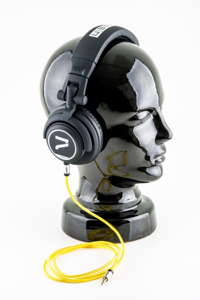 7even Kopfhörer schwarz-gelb/ The Headphone black/ yellow