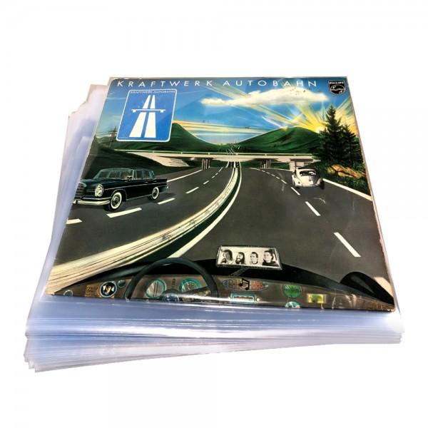 "12"" Schallplatten LP-Schutzhüllen / Klar / Cover-Schutz-Sleeves Stark"