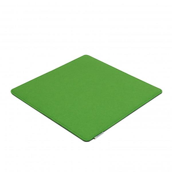 Filz Auflagen Kissen grün-grau 40x40 cm