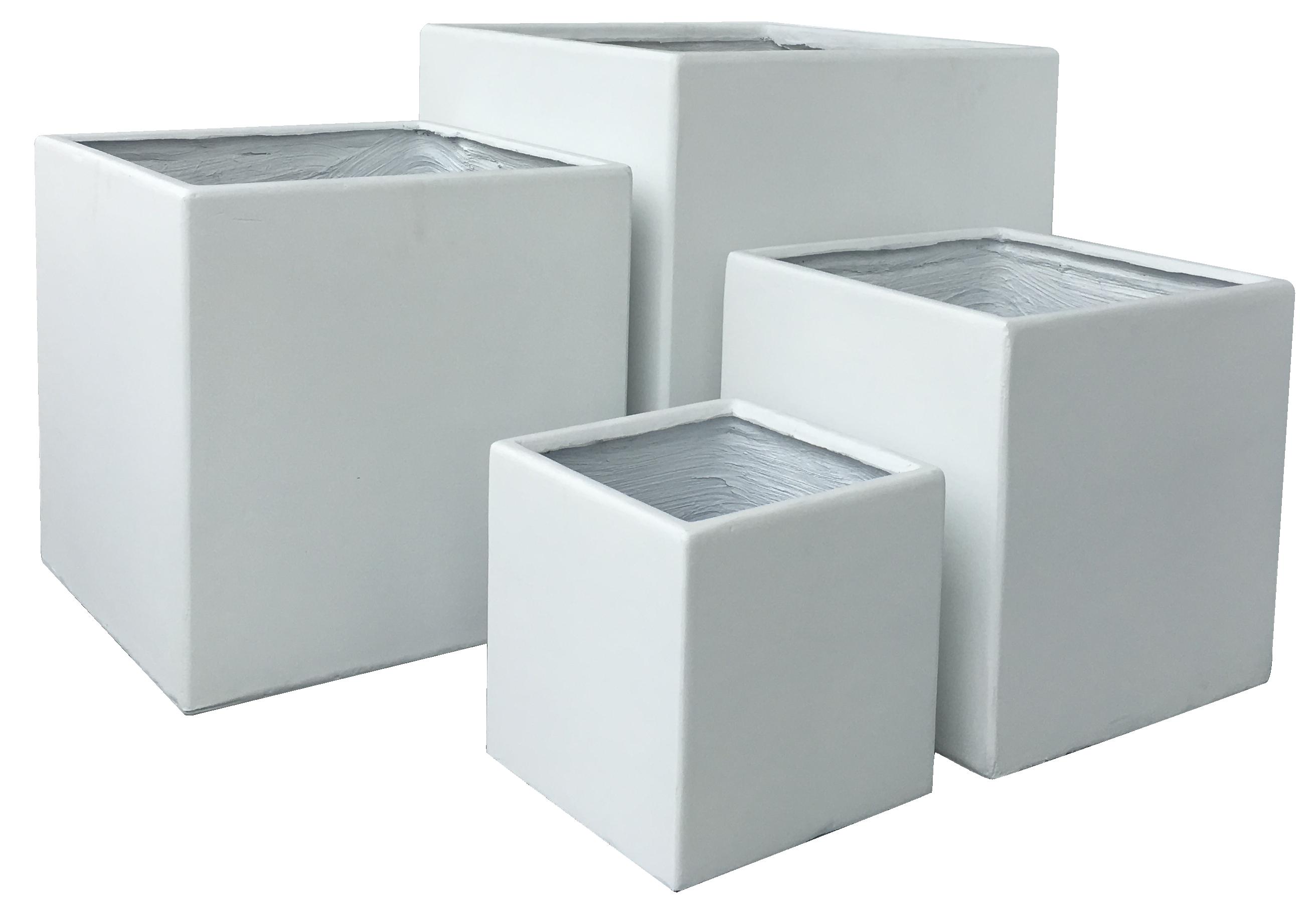 Extrem Exklusiv & hochwertig - Premium Pflanzkübel Set - Lounge Cube Pot PK12