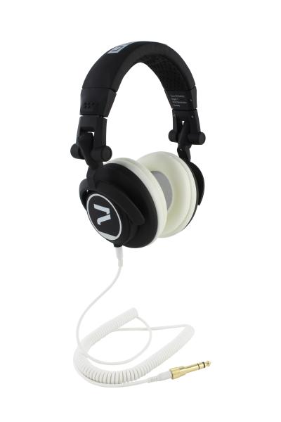 Kopfhörer schwarz-weiß