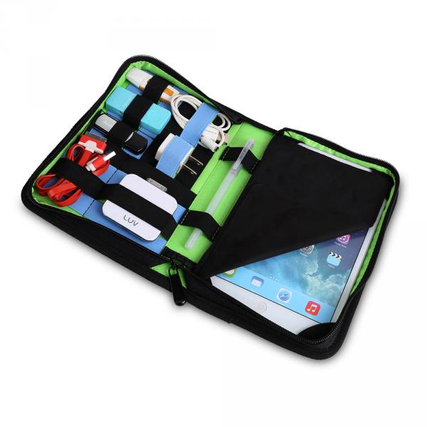 "7even Multi Wallet / Organizer, Case, Mappe für iPad Mini o. Nexus 7"", USB Sticks, Kabel etc."