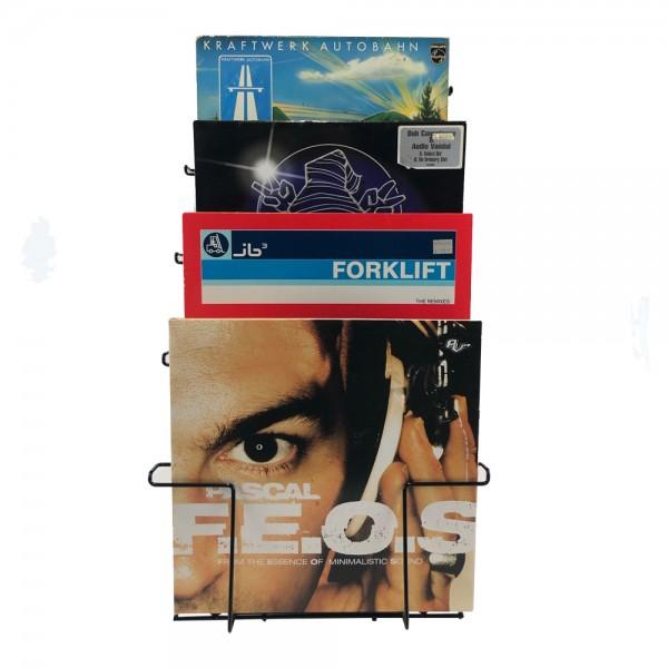 LP Wand Halterung mit 7 Fächern - Schallplatten Wanddisplay