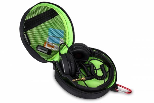Kopfhörer-Tasche schwarz
