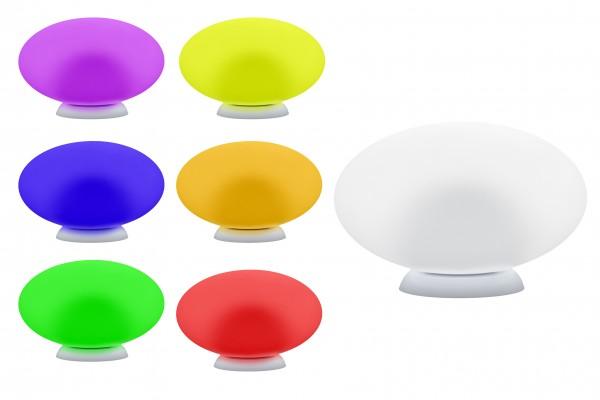 7even LED Flat / Egg / Ei / Design Leucht Objekt - Pool, Teich, Deko o. indirekte Beleuchtung 35 cm