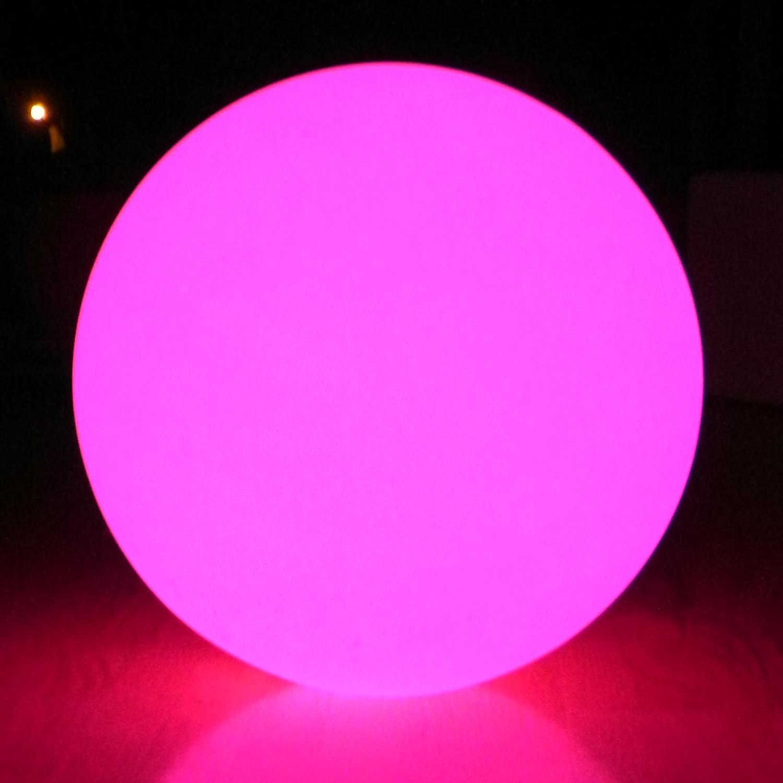 Grosse Led Leuchtkugel Mit 60cm Durchmesser Mit Farbwechsel Und Akku Funktion Led Ball Leucht Kugel 7even De Life S Too Short For Boring Things