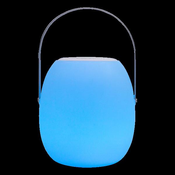 Mobiler Design Bluetooth-Lautsprecher und LED-Lampe