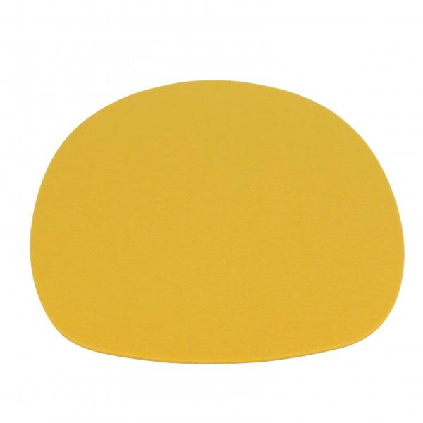 Filzkissen für Sidechair gelb