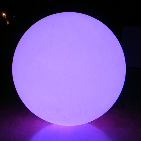 7even LED Design Dome 100/ XXL LED-Leuchtkugel mit gigantische 100cm !