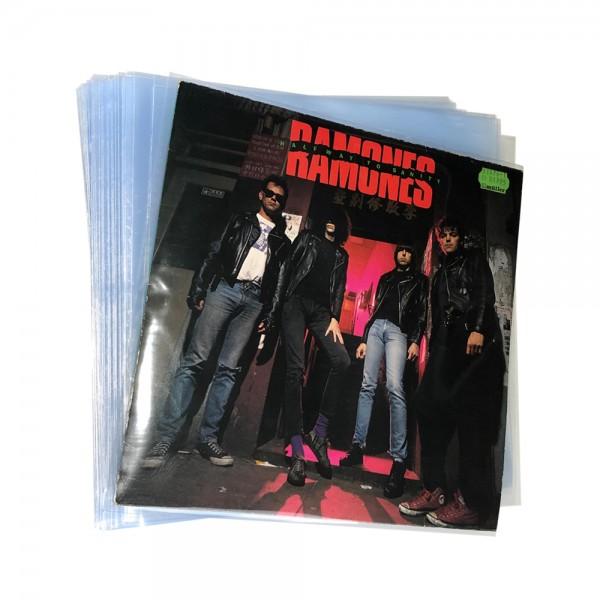 "12"" Schallplatten LP-Schutzhüllen / Klar / Cover-Schutz-Sleeves Flat"