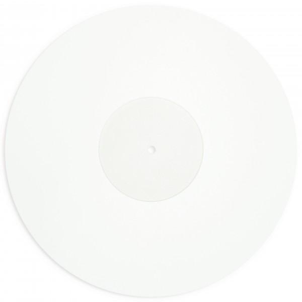 Schallplattenauflage / Plattenspieler-Auflage Acryl / Slipmat Acryl Clear 29,8cm Durchmesser