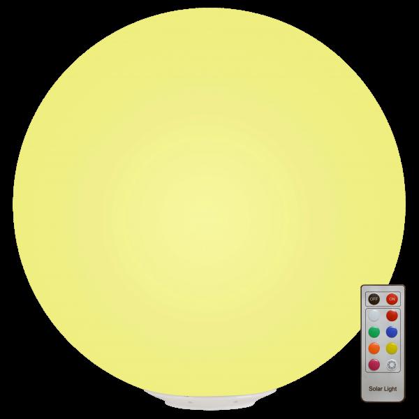 LED Leuchtkugel, Leuchtball Solarbetrieben und Fernbedienbar