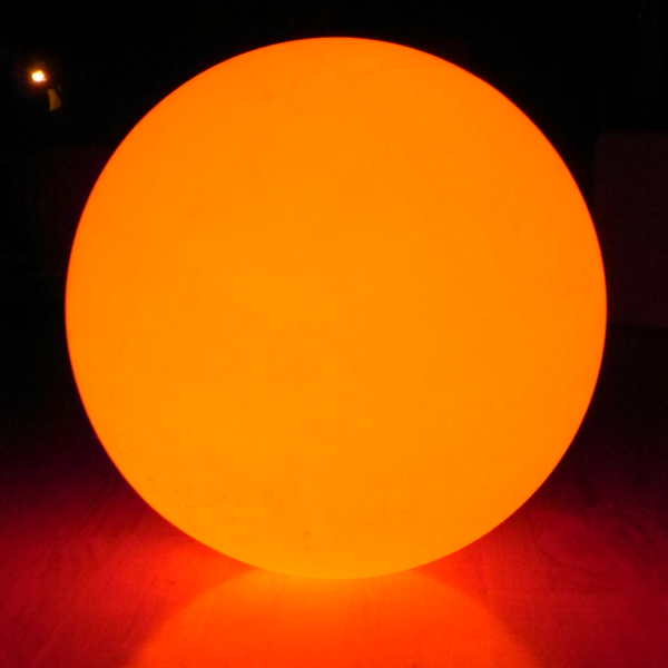 7even LED Design Dome 60/ LED Leuchtkugel/ In und Outdoor / Wasserdicht ! / Akku und RF Funk