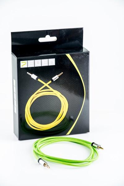 Klinkenstecker Kabel grün