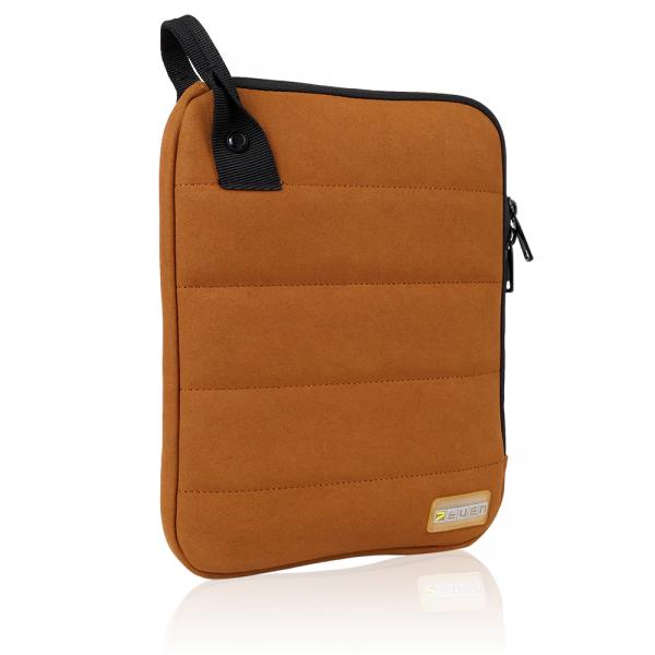 """7even Color Tablet-Sleeve / Schutzhülle - Case für iPad, Galaxy u. andere 10"""" Tablets braun"""