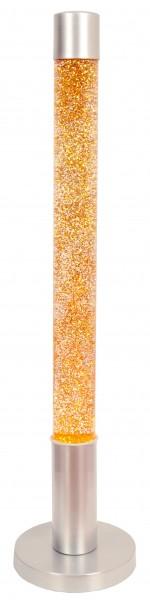 XXL Stehlampe Glitzer Effekt orange Gelb 76cm Deko-Hintergrund Beleuchtung