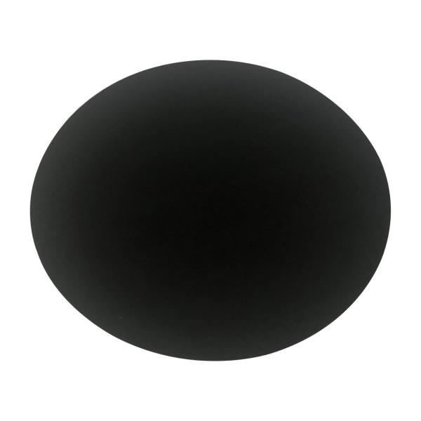 Filz Auflage 33cm rund schwarz