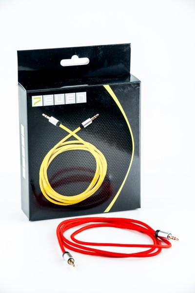 Klinkenstecker Kabel rot