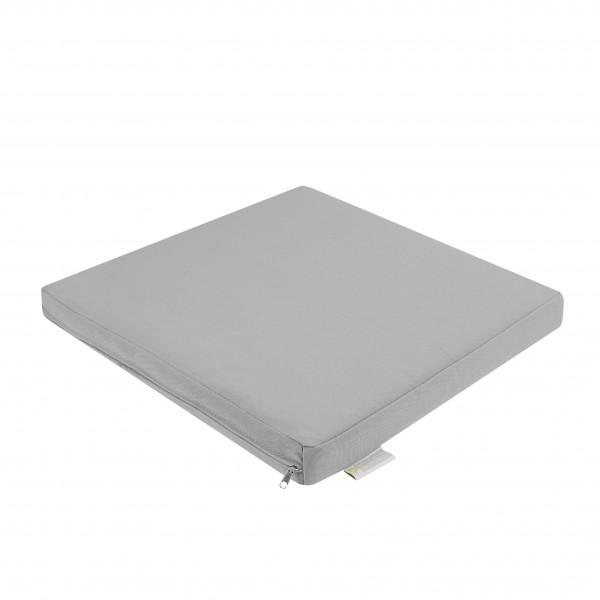 Outdoor Kissen silber-grau 40x40cm