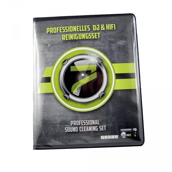 7even Professionelles DJ & Hifi Reinigungsset inklusive Schallplatten, CD und DVD Reiniger