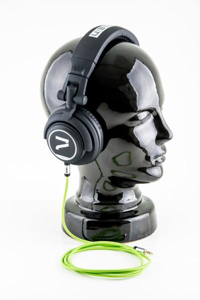 7even Headphone black / green