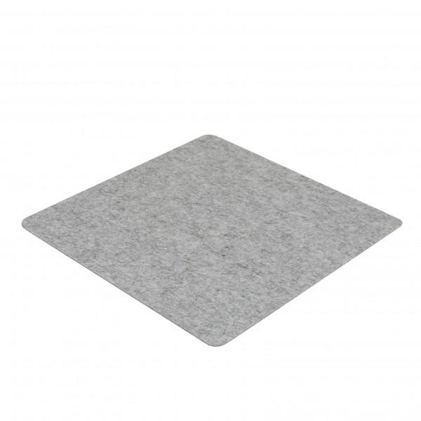 Filz Auflage 30 x 30cm grau