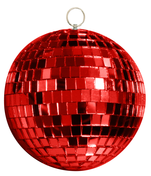 Mirror-Ball-10cm-red