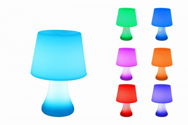 7even LED-Tisch Deko / Classic Table Lamp / Farbwechsel