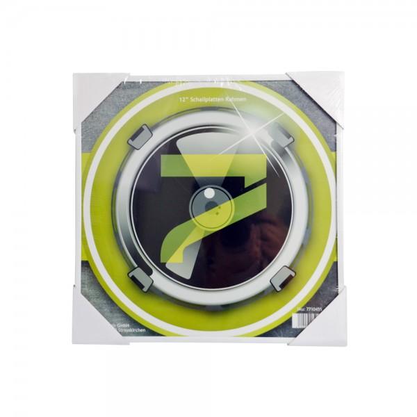 "Schallplatten Bilderrahmen / Vinyl 12"" Wand Bilderrahmen weiß"