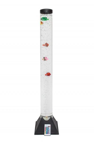 LED-Design & Sprudel-Wassersäule mit Fernbedienung 100cm hoch!