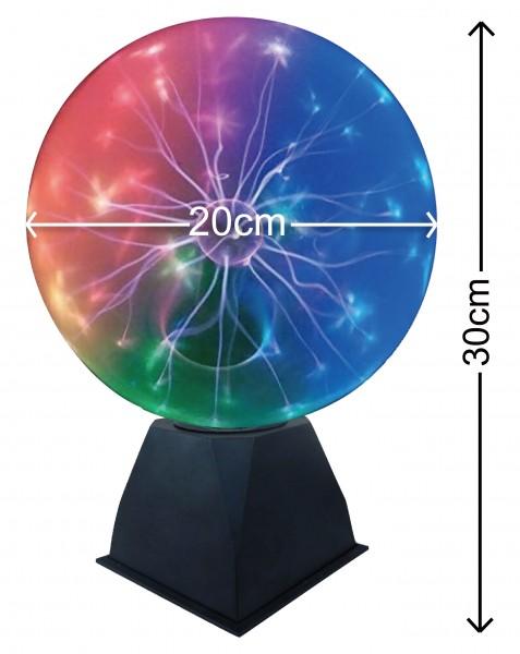 leuchtender Plasma ball groß