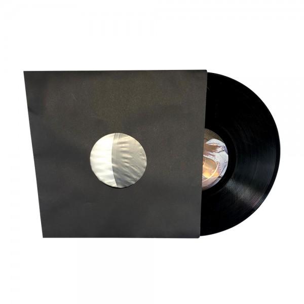 """10"""" Schallplatten Innenhülle schwarz gefüttert (50 Stück Pack)"""