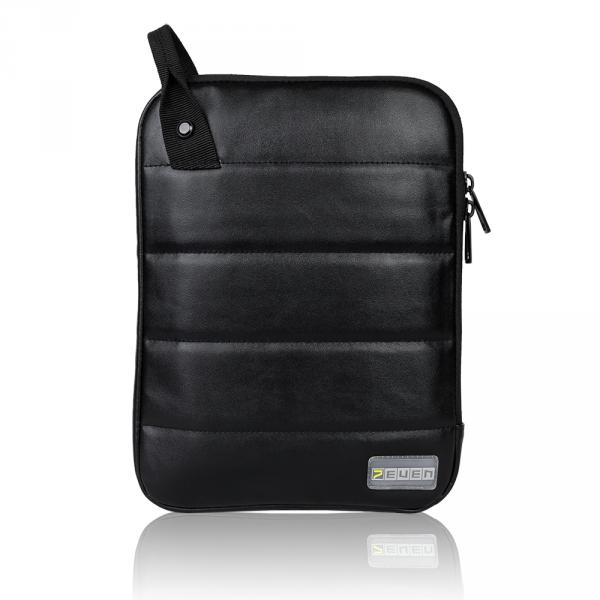 7even Color Tablet-Sleeve / Schutzhülle - Case für iPad u. andere Geräte bis 27 x 21,5 cm black