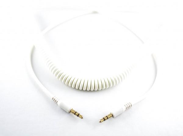 Ersatz Spiralkabel für 7even Headphone weiß