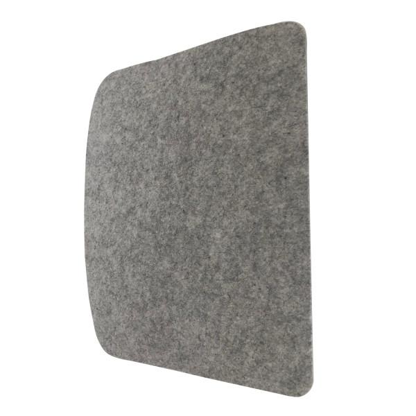 Filz Auflage 355 x 425 grau für z.b. Ikeas Tobias